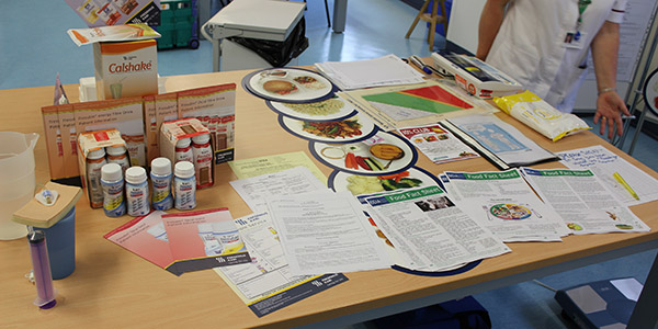Image of Nutrition and Dietitian stand at Open Day 2013