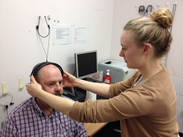 Image of a Hearing Test