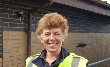 Image of Emma Parsons, our Head Groundskeeper